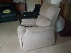 Rise & Recline Electric Armchair - In good working order