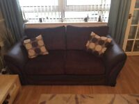 Sofas for sale DFS large 2 seater and 2 seater (sofa bed)