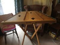 Dove Silkie Hammered Dulcimer by Roger Frood