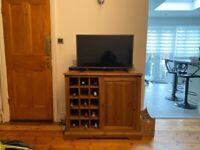 Sideboard with wine rack