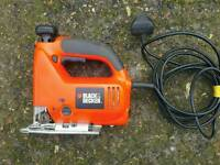 Black and decker scroll jigsaw, excellent working order