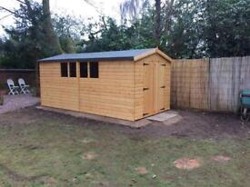 16x8 work shop/shed