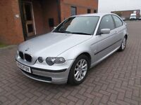 BMW 316Ti ES COMPACT (03) LOW MILES, LONG MOT,