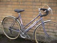Raleigh Athena Small Town racer bike - classic - ready to ride - central Oxford