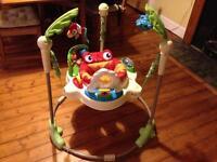 Jumperoo rainforest bouncer seat