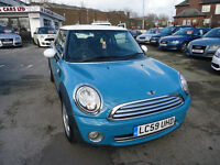2009 MINI COOPER D ONLY £20 ROAD TAX COME WITH 12 MONTHS MOT AND 3 MONTHS NATIONWIDE WARRANTY