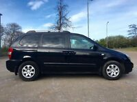 2008 KIA SEDONA 2.9 LS AUTO CRDI - SPACIOUS 7 SEATER, LOW MILEAGE, GOOD SPEC, ELECTRIC DOORS, ETC