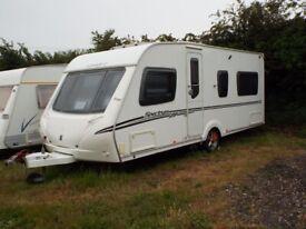Abbey Spectrum 418 Fixed Bed 4 Berth (2009) Caravan