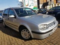 VOLKSWAGEN GOLF 1.6 S 5 DOOR, AUTOMATIC, FRESH MOT, GOOD RUNNER