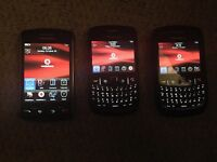 x3 Blackberry phones - must go ASAP