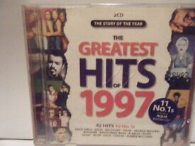 The greatest hits of 1997. 2CD Set.Used