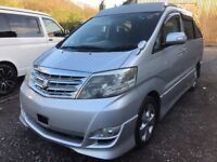 2006 TOYOTA ALPHARD 2.4 PETROL 4 BERTH POP TOP CAMPERVAN NEW SIDE CONVERSION