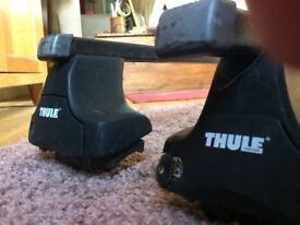 Thule Roof Rack Square Roof Bars with lock and feet system