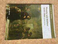 Poverty & Welfare 1815-1950 second edition