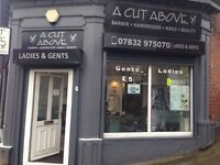 New opened barber & hairdressing shop for sale