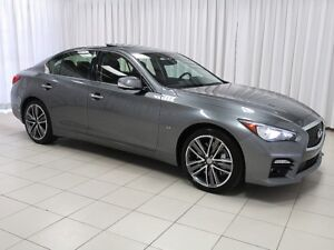 2015 Infiniti Q50 Q50S SPORT AWD w/ TOURING & TECHNOLOGY PACKAGE