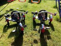 Two Schwinn Tricycles