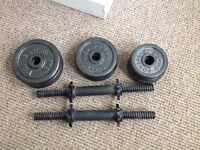 'Pro Power' Dumbbell weights set
