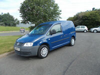 VOLKSWAGEN CADDY C20 TDI DIESEL STUNNING BLUE NEW SHAPE 2007 BARGAIN ONLY £2595 *LOOK* PX/DELIVERY