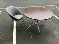 Breakfast Table and Chair (Leather)