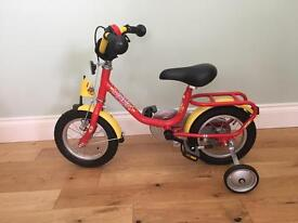 PUKY Z2 child's bike with stabilisers - 3y+