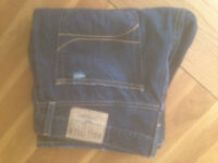 """'The Hollister Slim Boot' Men's Low Rise Slim Boot Jeans (34""""W x 32""""L) (worn once only) REDUCED"""