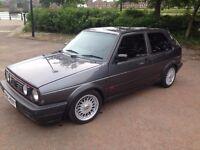 ***1991 Mk2 Vw Golf GTI Pearl Grey 8v 3 Door Runout Model *** £3750