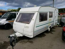 Touring caravan 5 berth