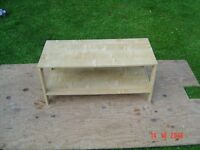 Small Beech Veneered Coffee / Side Table. Can Deliver.