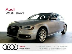 2015 Audi A4 2.0T KOMFORT APPARENCE S-LINE, QUATTRO