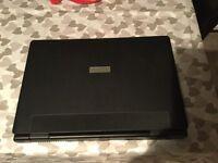 Black ADVENT laptop excellent condition