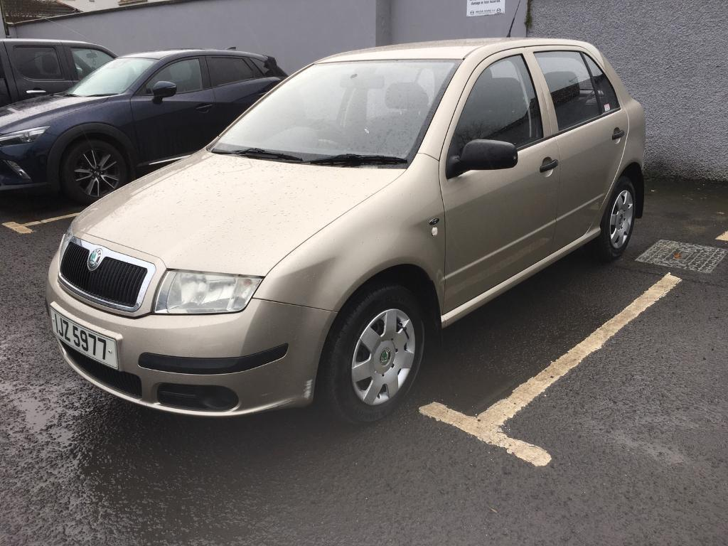 skoda fabia 1 9 sdi classic mot jan 2018 in broughshane county antrim gumtree. Black Bedroom Furniture Sets. Home Design Ideas