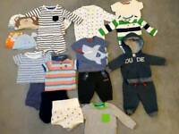 3-6 Baby Boy Clothes Bundle
