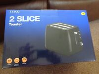 New Boxed Tesco 870w 2 Slice Toaster Only £5