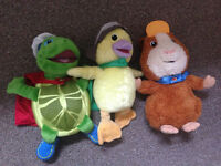 Set of the Wonderpets Soft Plush Toy