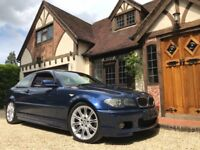 2004 BMW 330CI M SPORT+ORIGINAL CLEANEXAMPLE+FULL LEATHER+ JUST SERVICED+MOT'ED PX?