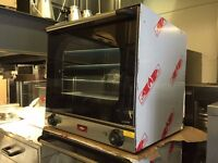 CATERING COMMERCIAL TWIN FAN CONVECTION OVEN FAST FOOD RESTAURANT TAKE AWAY SHOP BAR KITCHEN BAKERY