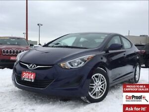 2014 Hyundai Elantra GL**BLUETOOTH**HEATED SEATS**ALLOY WHEELS**