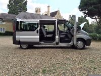*_*_* 2007 RENAULT TRAFIC LL29 DCI 115 LWB MINIBUS 9 SEATER VAN MPV A/C SWAP OR PX WELCOME *_*_*