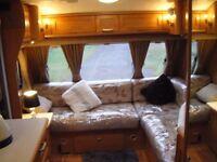 2007 Compass Omega 4 Berth fixed Bed Caravan