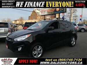 2013 Hyundai Tucson GLS AWD HEATED SEATS 106KM 2.4L