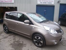 Nissan NOTE N-Tec Auto ,5 dr hatchback,1 lady owner,FSH,full MOT,runs and drives as new,only 23,000