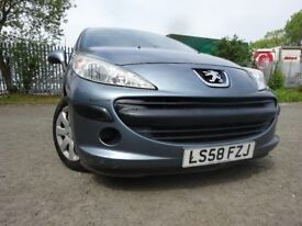 58 PEUGEOT 207 S 1.4,5 DOOR HATCHBACK,MOT NOV 018,2 KEY,PART HISTORY,VERY LOW MILEAGE CAR,LOVELY CAR