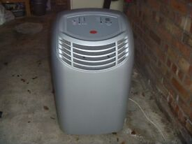 B & Q Portable air conditioning unit in Leicester