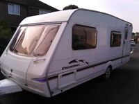 2004 Swift Charisma 570, 6 berth, single axel, Touring Caravan with isabella awning & motor mover