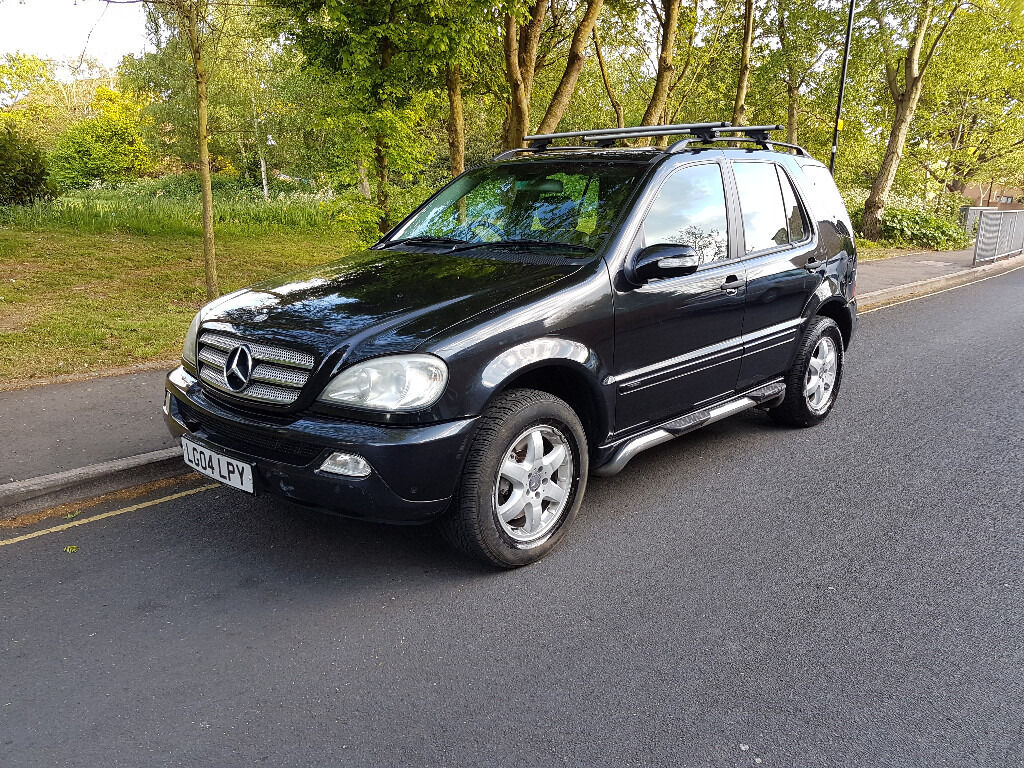 2004 mercedes ml 270 cdi diesel 7 seater automatic rare specifcation in feltham london. Black Bedroom Furniture Sets. Home Design Ideas