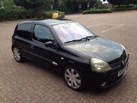 £1400 - Renault Clio 172 LPG for sale ~50mpg ~ CAMBELT + DEPHASER DONE