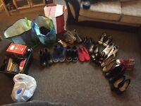 Job lot of shoes