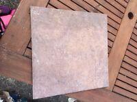 14 Ceramic Tiles, Sicily Chocolate colour, 316mm X 316mm