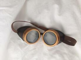 Fancy dress aviator goggles